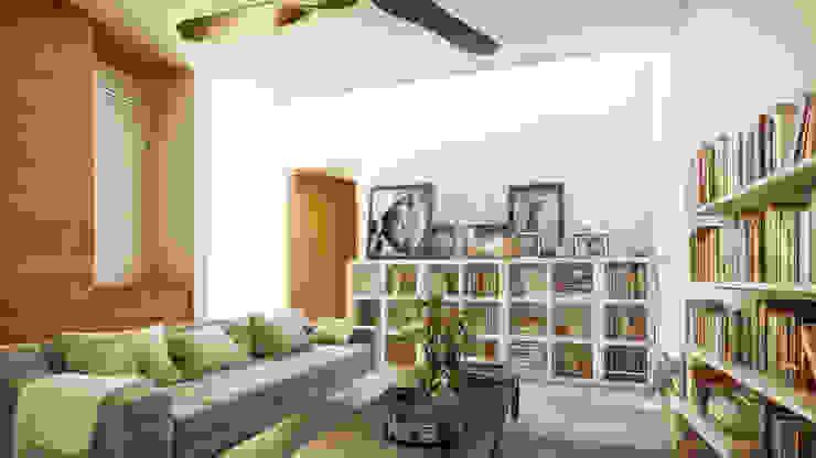 Living room by Taller Veinte, Minimalist