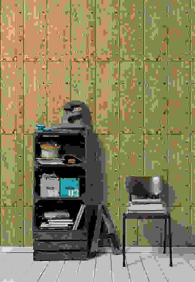Coleccion Decoworld 2:  de estilo industrial de Disbar Papeles Pintados, Industrial