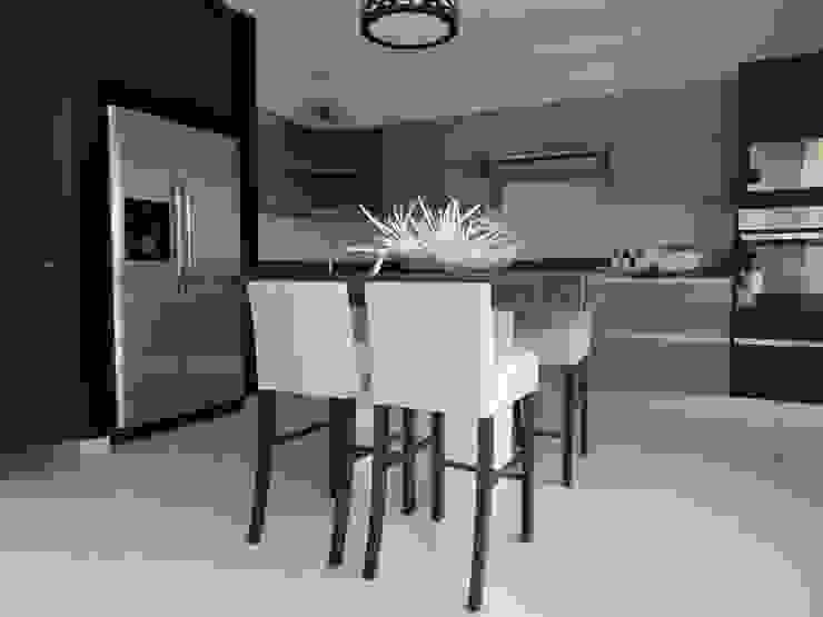 DESAYUNADOR Cocinas tropicales de Vau Studio Tropical