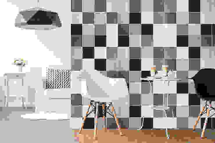現代廚房設計點子、靈感&圖片 根據 Area Doc Ceramiche 現代風