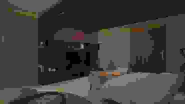 CASA – TEMOZÓN Dormitorios modernos de Vau Studio Moderno