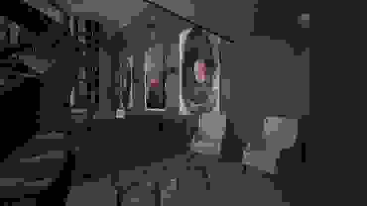 CASA – TEMOZÓN Salones modernos de Vau Studio Moderno