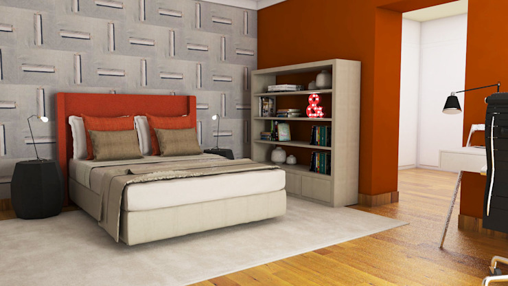 Modern Bedroom by FEMMA Interior Design Modern