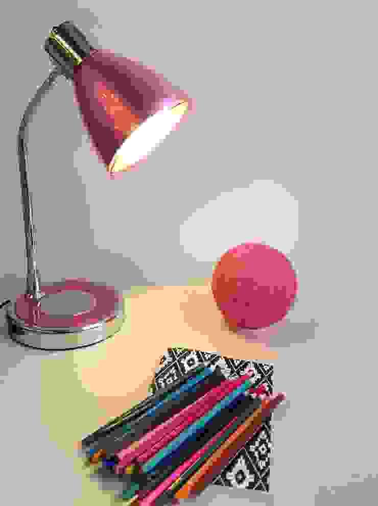 Angelo Luz + Diseño Nursery/kid's roomLighting Pink