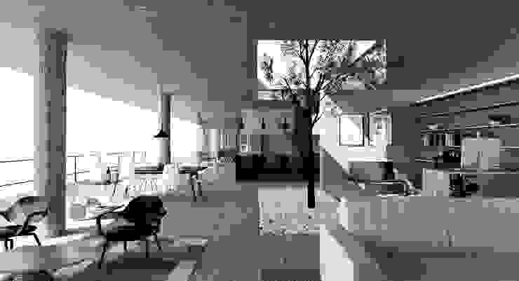 Alvorada Arquitetos Living room