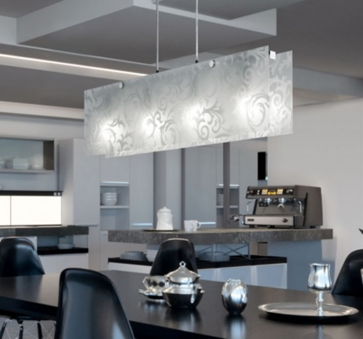 modern  door Angelo Luz + Diseño, Modern Glas