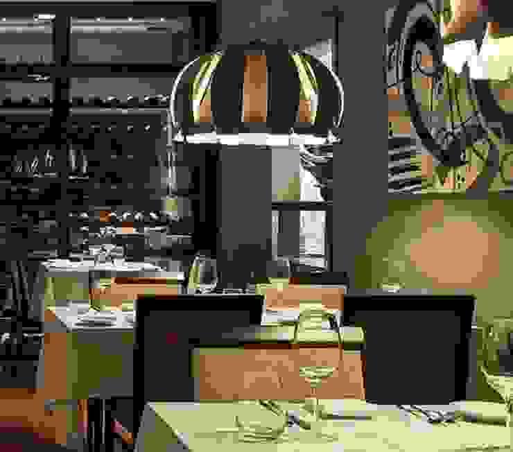 Angelo Luz + Diseño 餐廳照明 Wood effect