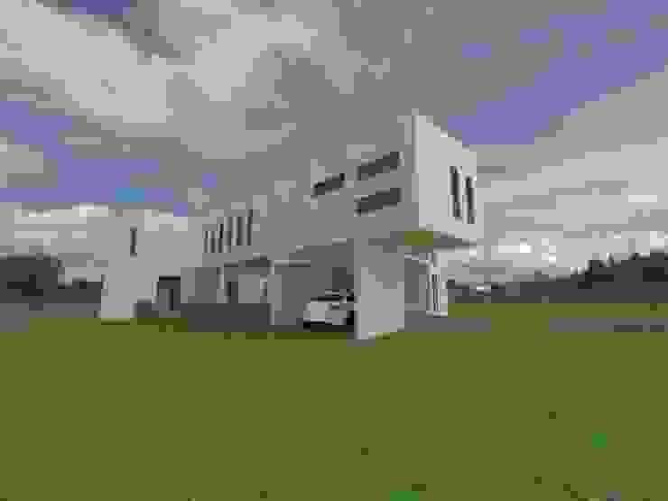 CASA FUNDO EL PERAL Casas de estilo mediterráneo de Arquiconst Arquitectos Mediterráneo Concreto reforzado
