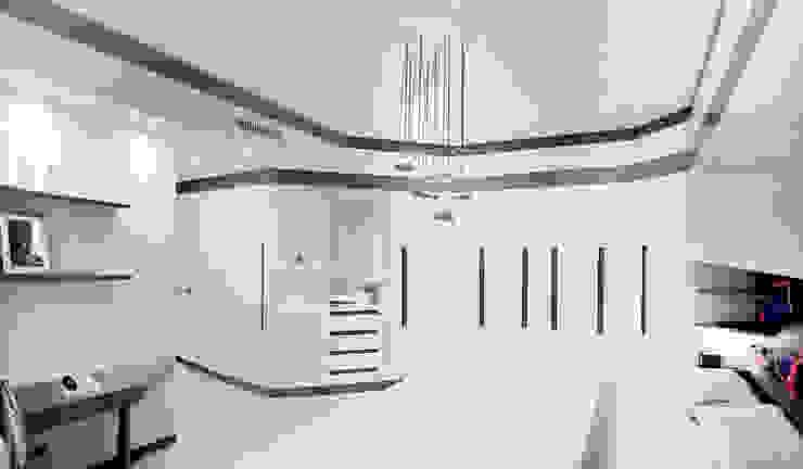 Davide Coluzzi DAZ architect Minimalist bedroom Solid Wood White