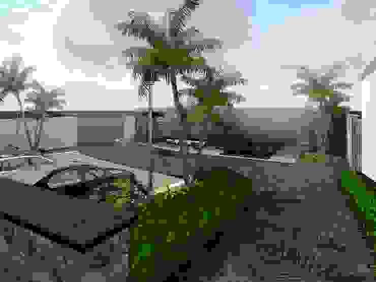 Proyecto Cristo Casas minimalistas de HC Arquitecto Minimalista