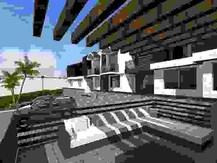 Proyecto Cristo Balcones y terrazas minimalistas de HC Arquitecto Minimalista