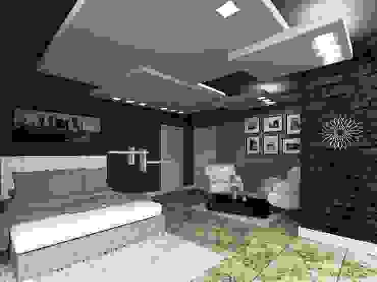 HC Arquitecto Cuartos de estilo minimalista