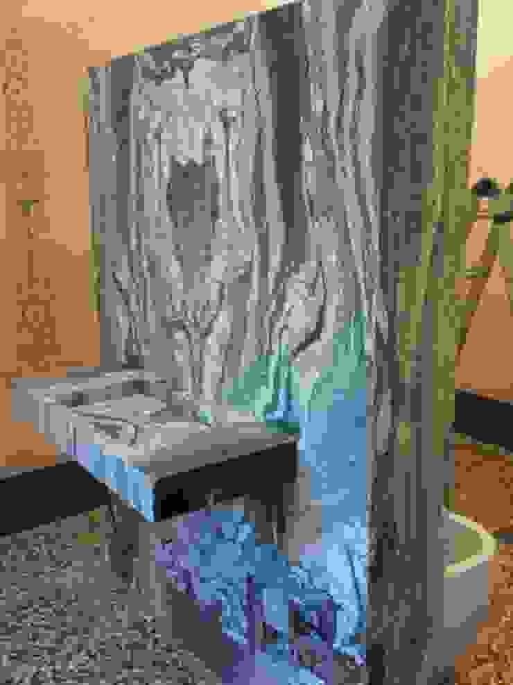 Totem en marmol Cipollino verde Giemme Marmi S.R.L. BañosLavamanos Mármol Verde