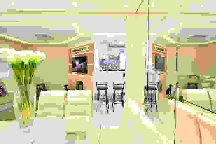 SALA DE ESTAR Salas de estar modernas por Graça Brenner Arquitetura e Interiores Moderno MDF