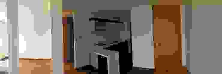 Vista Preliminar de Sala Comedor y Cocina Cocinas modernas de FARIAS SAS ARQUITECTOS Moderno