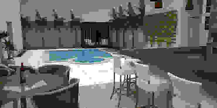 Uma bela Casa no Villagio em Araxá MG Piscinas modernas por SM Arquitetura e Engenharia Moderno
