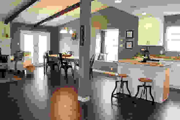 Home Staging San Antonio Tx Leon Valley: Salon Salones rurales de Noelia Ünik Designs Rural