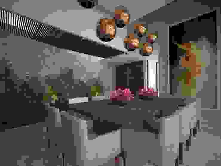 Comedor Comedores modernos de Vau Studio Moderno