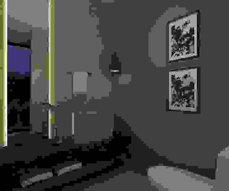 Baño de Visitas Baños de estilo moderno de Vau Studio Moderno