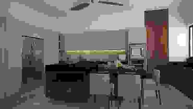 Cocina Cocinas modernas de Vau Studio Moderno