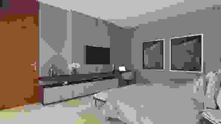 Recámara Principal Dormitorios modernos de Vau Studio Moderno