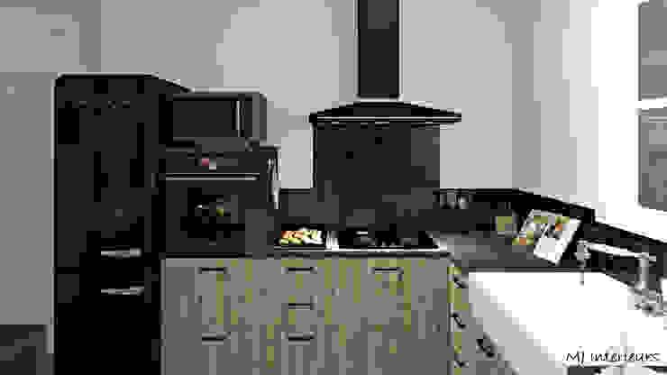 Cuisine Cuisine rustique par MJ Intérieurs Rustique Bois Effet bois