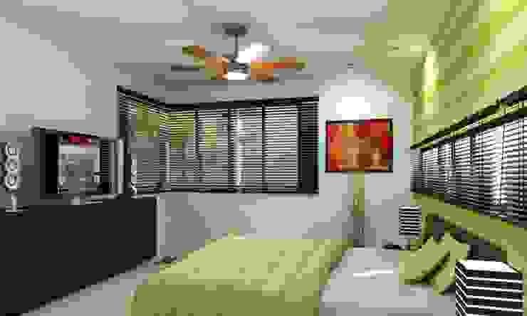現代房屋設計點子、靈感 & 圖片 根據 FRACTAL CORP Arquitectura 現代風