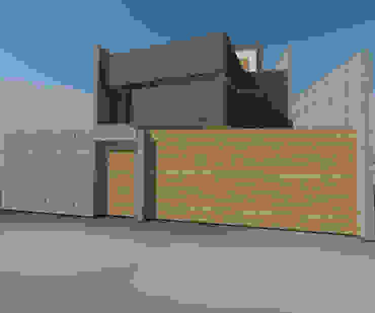 Casa Jara-Andrade, Iquique... Tramas, vacío y luz. Casas estilo moderno: ideas, arquitectura e imágenes de Toledo estudio Arquitectos Moderno