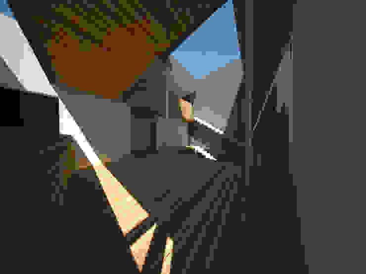 Casa Jara-Andrade, Iquique… Tramas, vacío y luz. Oficinas y bibliotecas de estilo moderno de Toledo estudio Arquitectos Moderno