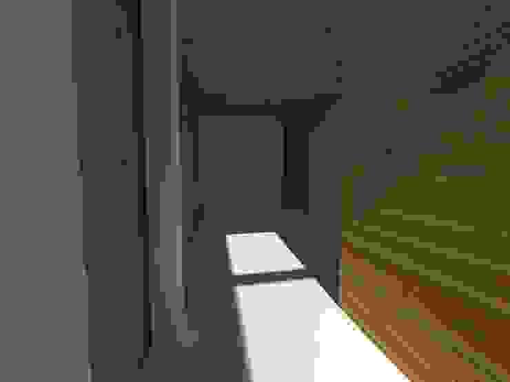 Casa Jara-Andrade, Iquique… Tramas, vacío y luz. Salas multimedia de estilo moderno de Toledo estudio Arquitectos Moderno