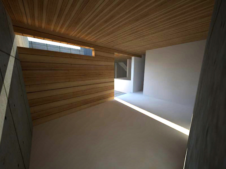 Casa Jara-Andrade, Iquique… Tramas, vacío y luz. Bodegas de vino de estilo moderno de Toledo estudio Arquitectos Moderno