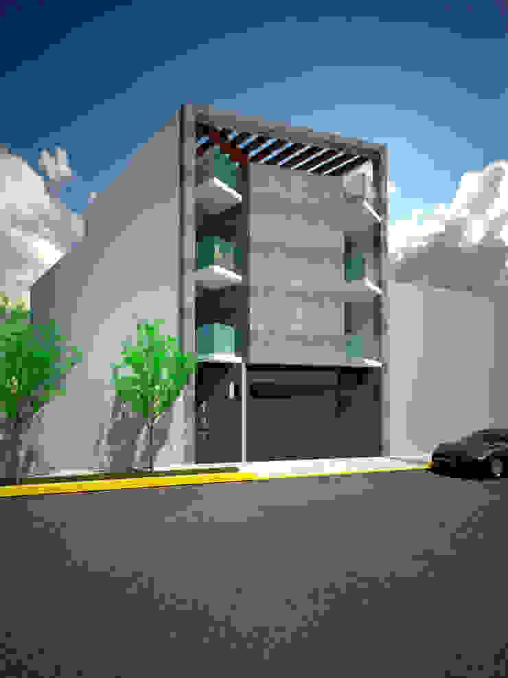 EDIFICIO DE DEPARTAMENTOS de BTA DISEÑO Y CONSTRUCCION Moderno