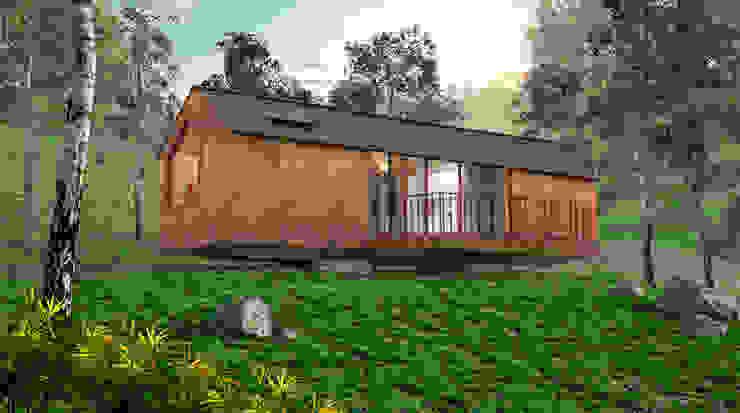 Prototipo Extend _ Viviendas Refugio 27-47-67 @tresarquitectos Casas modernas