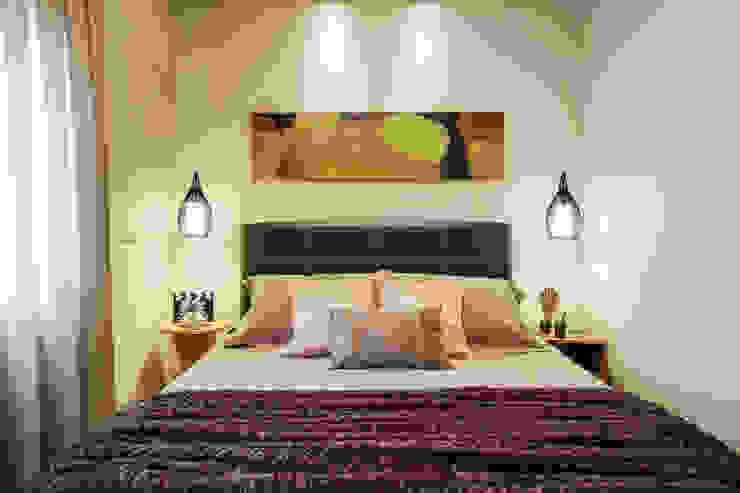 غرفة نوم تنفيذ Amanda Pinheiro Design de interiores , حداثي