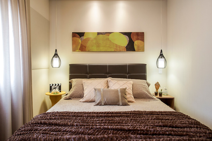 Modern Bedroom by Amanda Pinheiro Design de interiores Modern