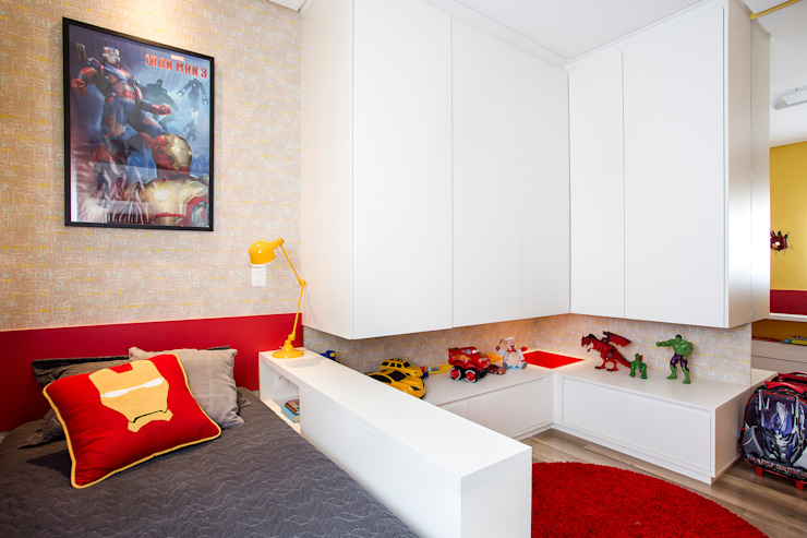 Modern Kid's Room by Amanda Pinheiro Design de interiores Modern Wood Wood effect