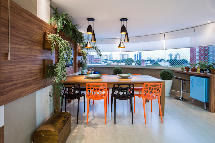 Patios & Decks by Amanda Pinheiro Design de interiores, Modern Wood Wood effect