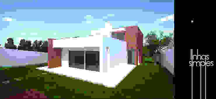 Moradia unifamiliar / Dwelling Linhas Simples Casas modernas