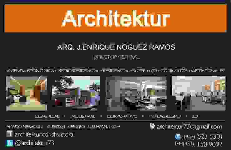 ARCHITEKTUR Dormitorios minimalistas de Architektur Minimalista