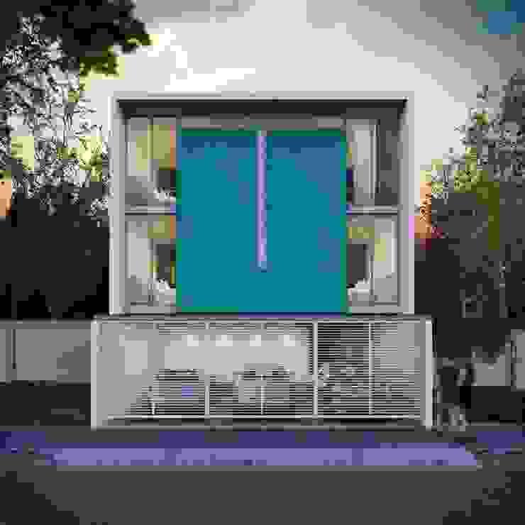 Edificio Departamentos Casas minimalistas de ARQMA Arquitectura & Diseño Minimalista Concreto