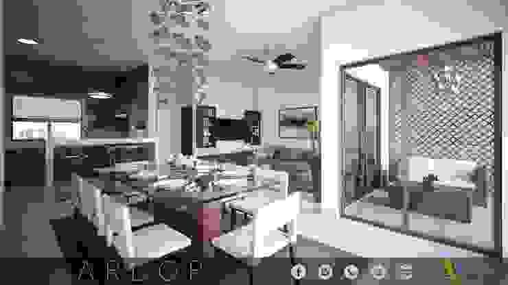 PROYECTO ARBOR Casas modernas de MONACO GRUPO INMOBILIARIO Moderno
