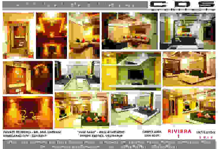 HARI AAS: modern  by CDS architects,Modern Wood Wood effect