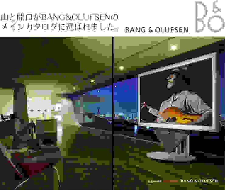 bang & olfsen cover モダンな 窓&ドア の EASTERN design office イースタン建築設計事務所 モダン 木 木目調