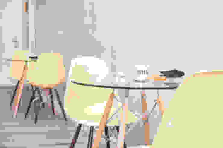 Mesas y sillas Gastronomía de estilo industrial de IN BIANCO Industrial