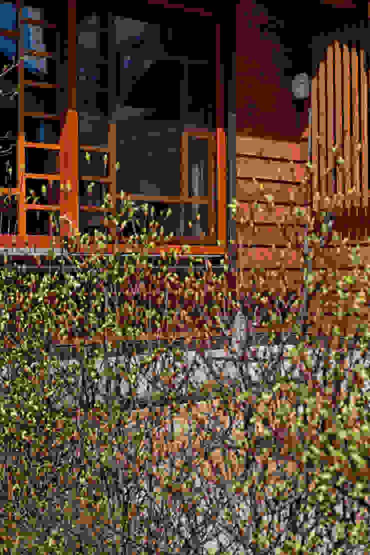 赤羽M邸-家事室 面格子 オリジナルな 家 の アイプランニング オリジナル 木 木目調
