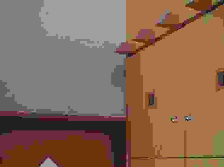 赤羽M邸-玄関ホール意匠ツノ オリジナルな 家 の アイプランニング オリジナル 木 木目調