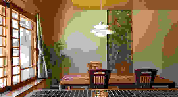 赤羽M邸-ダイニング オリジナルな 家 の アイプランニング オリジナル 木 木目調