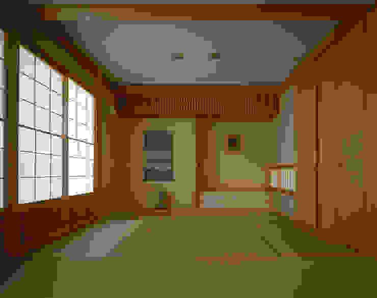 赤羽M邸-和室 オリジナルな 家 の アイプランニング オリジナル 木 木目調