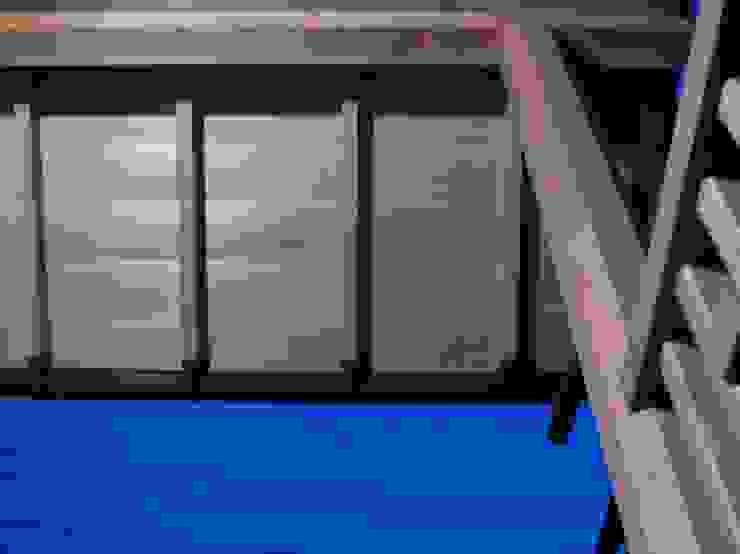 赤羽M邸-玄関庇夜景 オリジナルな 家 の アイプランニング オリジナル 木 木目調