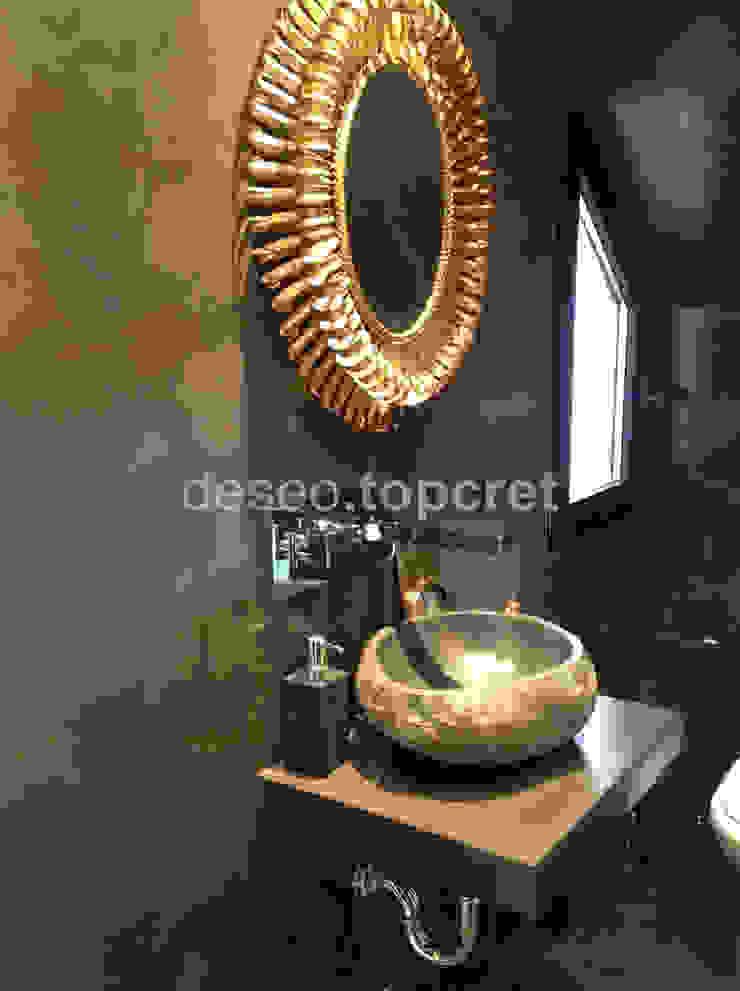 Salle de bain originale par Topcret Éclectique
